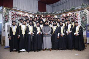 Students With Mufti Furqan Madani