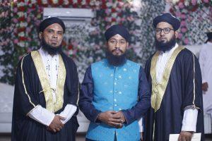 Syed Faraz & Mohsin with Allama Zeshan