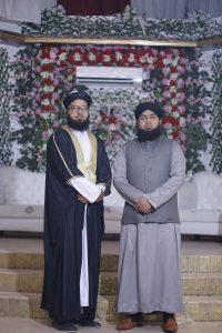 Syed with Mufti Furqan Madani