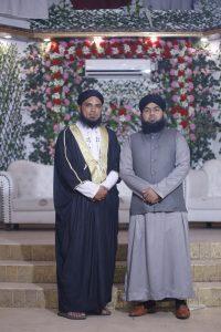 Mohsin ul Haq with Mufti Furqan Madani