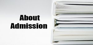 About Admission
